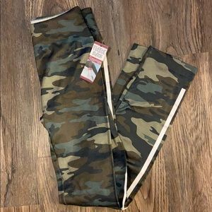 Camo print Fleece Back leggings